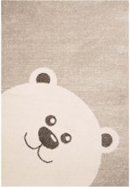 Speelkleed beertje Vini - crème/beige 120x170 cm