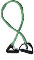 Matchu Sports - Fitness Elastiek DeLuxe - Medium (groen) - 1,2 meter