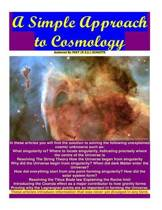 A Simple Approach to Cosmology
