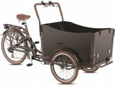 Troy Basic Bakfiets - Fiets - Unisex - Bruin - 20 Inch