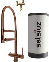 Selsiuz XL Copper met Combi boiler