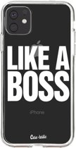 Casetastic Smartphone Hoesje Softcover Apple iPhone 11 - Like a Boss