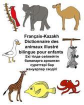 Fran ais-Kazakh Dictionnaire Des Animaux Illustr Bilingue Pour Enfants