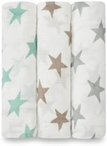 Aden + Anais Bamboo Swaddle 3-pack Milky Way