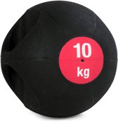 Medicijnbal Double-Grip 10 kg Krachtapparaataccessoire YOGISTAR