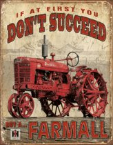 Buy A... Farmall Metalen wandbord 31,5 x 40,5 cm.