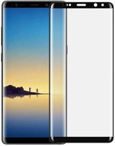 3D Curved Tempered Glass Full Screen Protector  Samsung Galaxy Note 8 - Zwart