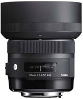 Sigma 30mm F1.4 DC HSM | Art SLR Standaardlens Zwart