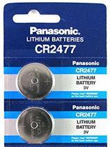 2 Stuks - Panasonic Professional CR2477 P120 3V 1000mAh Lithium knoopcel (Let op. Anders dan CR2477N)
