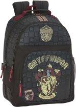 Harry Potter Gryffindor - Rugzak extra stevig - 42 cm - Zwart