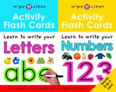Wipe Clean Activity Flash Cards 123