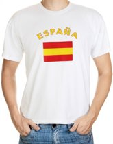 Espana t-shirt met vlag M
