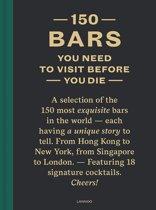 Boek cover 150 Bars You Need to Visit Before You Die van Jurgen Lijcops (Hardcover)