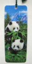 Boekenlegger panda