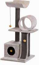Speeltoren voor kat met krabpalen 50 x 50 x 106 cm