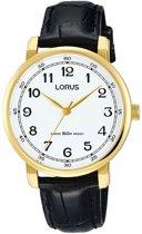 Lorus RG288MX9 horloge dames - zwart - edelstaal doubl�