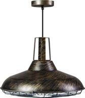 ETH - hanglamp - Cage - Ø45cm - zwart - goud