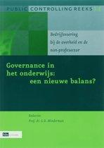 Public controlling reeks 14 - Governance in het onderwijs : een nieuwe balans