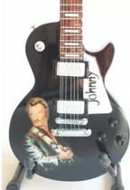 Miniatuur gitaar Johnny Hallyday tribute