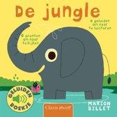 Boek cover De jungle (geluidenboekje) van Marion Billet (Hardcover)