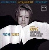 Shostakovich/Szymanowski/Stravinsky: Songs