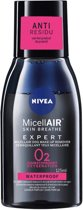 3 x NIVEA Micellair Expert Eye Make-up Remover Water - Gezichtsreiniger - 125ml