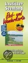 Rad- und Wanderkarte Lausitzer Seenland 1 : 50 000