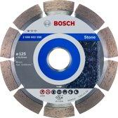 Bosch - Diamantdoorslijpschijf Standard for Stone 125 x 22,23 x 1,6 x 10 mm