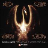 Bartok: Dance Suite; Copland: Appalachian Spring; Stravinsky: Firebird Suite; Vaughan Williams: Fantasia