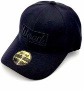 WOED | Baseball cap | Smokey  | Zwart | Kurk