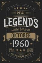Real Legends were born in Oktober 1960