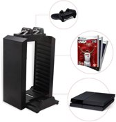 Multifunctionele Console Stand, Game Disc Tower voor PS4