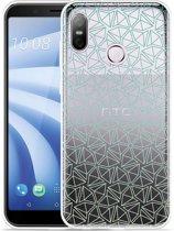 HTC U12 Life Hoesje Triangles