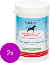 Finecto Dog - Voedingssupplement - parasieten - 2 x 300 g