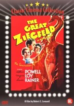 DVD cover van The Great Ziegfeld