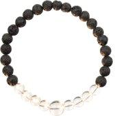Alkalurops Bergkristal Armband S | 18 cm