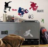RoomMates Muursticker Extreme Sports - multi