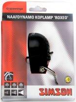 Simson Roxeo Koplamp - Fietslamp - (Naaf)Dynamo - Halogeen - Zwart
