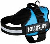 Julius k9 powerharnas / tuig voor labels  lichtblauw