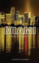 Miami Weekly Planner 2017