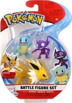 Afbeelding van Pokémon Battle Speelfiguren - Squirtle 5 cm, Sableye 5 cm, Jolteon 8 cm