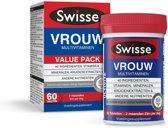 Swisse Multivitaminen Vrouw -  60 stuks - Voedingssupplement