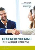 Boek cover Gespreksvoering in de juridische praktijk van Victoria van den Doel (Paperback)