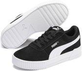PUMA Carina Jr Sneakers Kinderen - Puma Black-Puma White - Maat 36