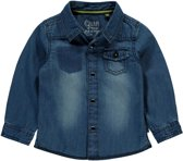 spijkerblouse Vincent mid blue denim