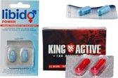 2x Libido Extreme 2x King Active en 2x Libido Power