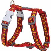 Red Dingo Hondentuig 25mm Neck 46-76cm Body 56-80cm DH-BR-OR-25
