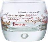 Durobor Atoll Dessertglas - 0.25 l - 6 stuks