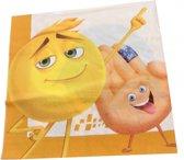 Emoji Servetten Emoji 20 Stuks 33 Cm Geel