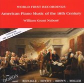 American Piano Music Of The 18Th Ce